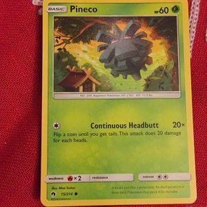 pokemon card( Pineco) for sale